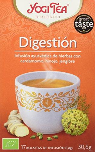 Yogi Tea Infusión de Hierbas Digestion - 17 bolsitas - [pack de...