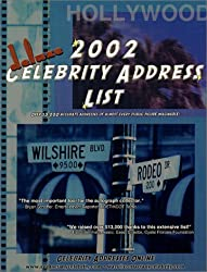 2002 Deluxe Celebrity Address List: Over 13,000 Accurate Addresses of Almost Every Public Figure Imaginable