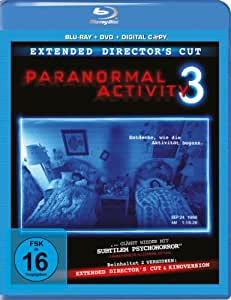 Paranormal Activity 3 - Extended (+ DVD + Digital Copy) [Blu-ray] [Director's Cut]