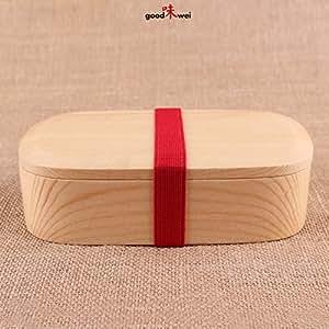 original japanische lunchbox bento box brotdose aus hellem holz quadratisch. Black Bedroom Furniture Sets. Home Design Ideas