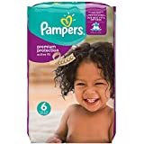 Pampers Premium Protection Active Fit Windeln Gr.6 (Extra Large) 15+ kg Monatsbox, 120 Stück