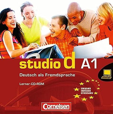 studio d - Grundstufe: Gesamtband 1 (Einheit 1-12) - Europäischer Referenzrahmen: A1: Lerner-CD-ROM. Interaktives Übungsangebot