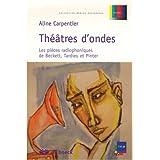 Théâtres d'ondes : Les pièces radiophoniques de Beckett, Tardieu et Pinter