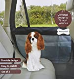 CAR DOOR PROTECTORS SET 2 SHINE EASY FIT MOST VEHICLES WATERPROOF WASHABLE FURRY PAWS