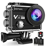 Best Hd Action Cameras - JEEMAK 4K Action Camera 16MP WiFi Underwater 30M Review