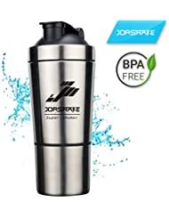 JORSHAKE 700ml+200ml Sportmixer Fitness Coctelera Proteínas