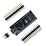 JullyeleDEgant Mini Breadboard-freundlicher USB Nano V3.0 ATmega328 5V Micro-Controller Board Spannungsregler Für Arduino-kompatible