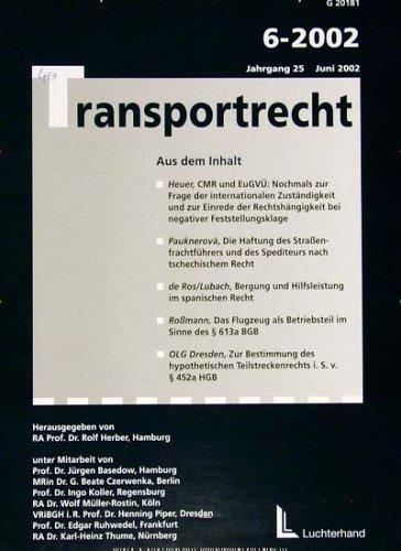Transportrecht [Jahresabo]