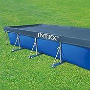 Intex Rectangular Pool Cover, Multi-Colour, 4.6m x 2.3m, 28039