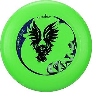 Super-Frisbee Eurodisc II 175g Ultimate Frisbee Creature NEON GRÜN