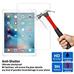 Protect the screen of your precious Apple iPad Pro from knocks and scratches with our shatter proof tempered glass screen protector. With an industry-high 9H hardness (harder than a knife's blade), this tempered glass for iPad Pro is virtually imposs...