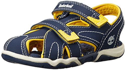 Timberland Active Casual Sandal FTK_Adventure Seeker Closed Toe Sandal, Unisex-Kinder Sandalen, Blau (BLUE), 30 EU