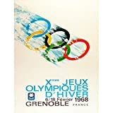 Wee Blue Coo LTD Sport Advert Winter Olympic Games Grenoble