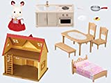 Sylvanian Families 5242 Starter Haus, Blisterpackung, 29 x 21,5 x 28,5 cm - 3