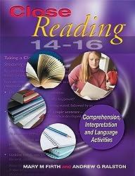 Close Reading 14-16: Age 14-16