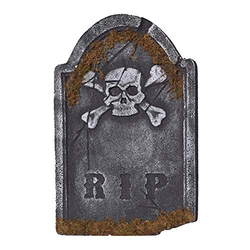 haum Grabstein RIP Friedhof Grabstein Halloween Tag Horror Kammer Szene Layout Dekorationen ()