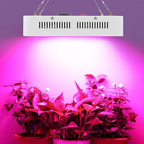 JADIDIS 720W Pflanzenlampe 6W Leds Wachsen Licht Vollspektrum für Innen Pflanzen Kraut Gemüse Wachstum Blumen Blüte