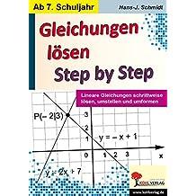 Suchergebnis auf Amazon.de für: Lösen von Gleichungen: Bücher