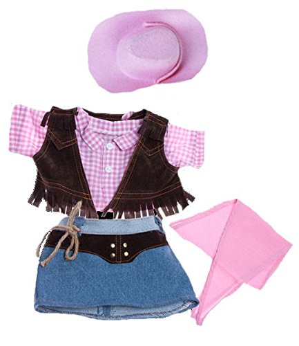 Cowgirl with Pink Hat and Scarf Fits Most 8