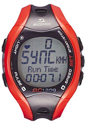 Reloj pulsómetro SIGMA RUNNING COMPUTER 1209 Rojo
