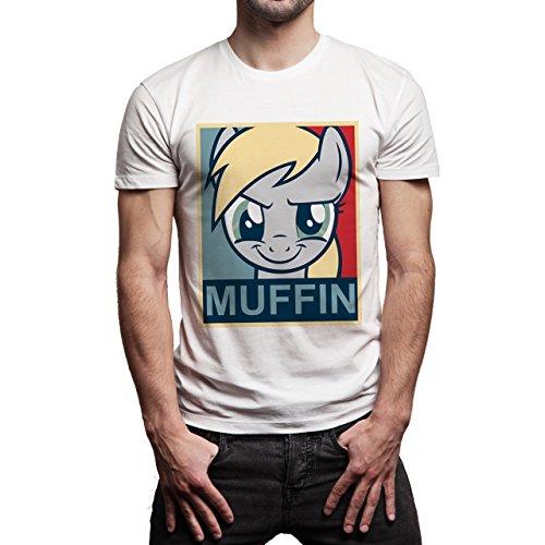 SWAG Muffin Poster Edition Herren T-Shirt Weiß