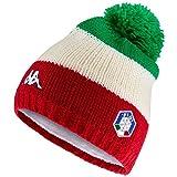 Kappa 6CENTO FLOCK FISI, Cappello Unisex Nazionale Italiana Sci (Ita Flag, 04)