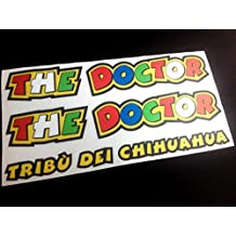 PEGATINAS the doctor ROSSI 46 MOTO GP ECO09 STICKERS VALENTINO AUFKLEBER DECALS (COLORES IMAGEN ROSSI