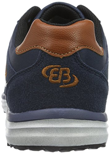 Brütting 541286, Baskets Basses Homme Bleu (Marine/Braun)