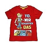 Bob der Baumeister T-Shirt rot (128)