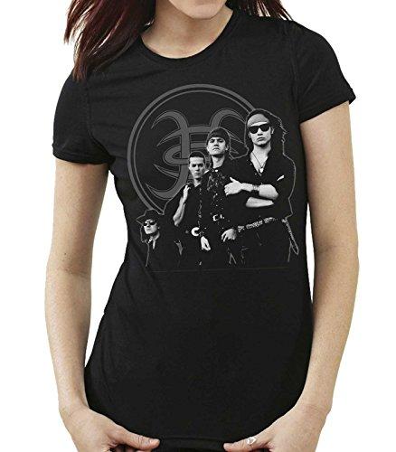 35mm - Camiseta Mujer - Heroes Del Silencio - Senderos De Traición - Women'S T-Shirt, NEGRA, L