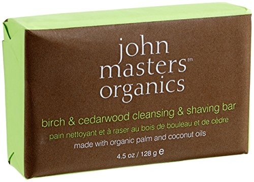 john-masters-organics-birch-and-cedarwood-cleansing-and-shaving-bar-rasier-und-korperseife-128-g