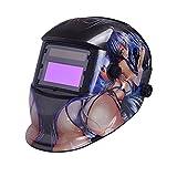 nuzamas Solar sudor Protector Máscara Soldadura Face Protección para ARC TIG Mig lazos Plasma Cortes con Shade ajustable de serie DIN4/9–13UV/IV–din16