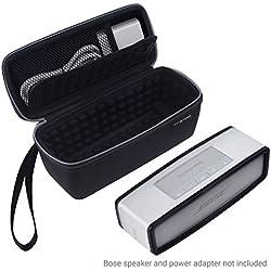 Eco-Fused Sacoche étui sac housse et étui de protection TPU pour Bose Soundlink Mini 1 ou 2 - idéal pour le rangement et transport de votre -Rembourrage antichoc sur tous les côtés