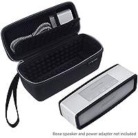 Sacoche étui sac housse et étui de protection TPU pour Bose Soundlink Mini 1 ou 2 - idéal pour le rangement et transport de votre -Rembourrage antichoc sur tous les côtés pour votre enceinte et le docker - Poche en maille pour stocker l'adaptateur - dragonne