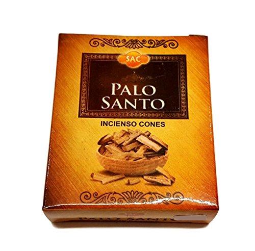 Incienso de Palo Santo en conos. Caja con 10 conos