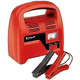 Einhell cc-bc 4/1P Batterieladegerät mit Amperemeter, 12V, rot