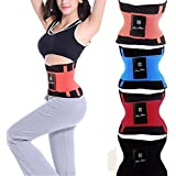 CONNECTWIDE® Unisex Xtreme Power Belt Hot Slimming Thermo Shaper Waist Trainer, Hot Sport Waist Trainer Tummy Slimming Shaper Fat Burner Power Belt, 100% Xtreme Belt Power Shapers Hot Slimming Waist Gym Trainer Corset, Waist Slimming Sports Belt Waist Trimmer Exercise Belt For Men/Women. Color: Navy Blue