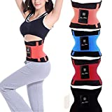 CONNECTWIDE® Unisex Xtreme Power Belt Hot Slimming Thermo Shaper Waist Trainer, Hot Sport