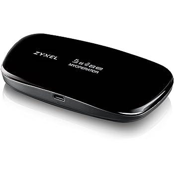 Zyxel Routeur de voyage Wi-Fi mobile LTE portable, débloqué pour tous les réseaux sans configuration requise, jusqu'à 10 utilisateurs [WAH7608]