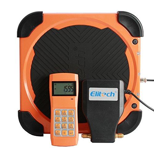 Elitech STC lmc-310a Wireless Betankung Electronic Kältemittel skala für Klimaanlage und Auto AC mit tragbaren Tragetasche und LCD-Display (Kältemittel Skala)