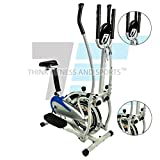 Think Fitness and Sports Exercise Bike Cardio Fitness Cycling Machine Gym Workout Training