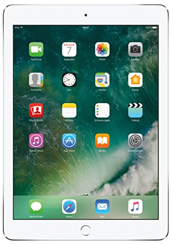Apple iPad Air 2 MNV62FD/A 24,64 cm (9,7 Zoll) Retina Display Tablet (32 GB, Wi-Fi, iOS 9) silber
