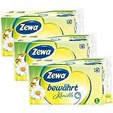 """Zewa Toilettenpapier """"Bewährt Kamille"""" 3-lagig, Riesen-Vorratspack  (48 Rollen)"""