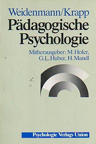 Pädagogische Psychologie. Ein Lehrbuch