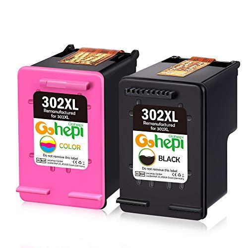 Gohepi 302XL Remanufactured HP 302 Cartuchos tinta