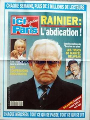 AFFICHE DE PRESSE [No 2492] du 07/04/1993 - RAINIE...