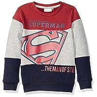 Name It Erkek çocuk Sweatshirt'ler NKMSUPERHERO KIAM SWEAT UBR WAB