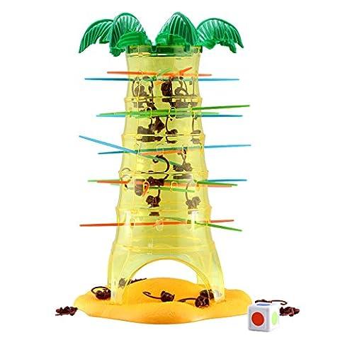 Gazechimp Brettspiel Eine Reihe von Tumbling Monkeys tumblingbahn Spielzeug Taumeln Affen Gesellschaftsspiele