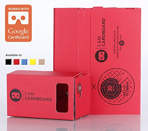 I-AM-CARDBOARD-45mm-Focal-Length-Virtual-Reality-Google-Cardboard-with-Printed-Instructions-and-Easy-to-Follow-Numbered-Tabs-WITHOUT-NFC-RED