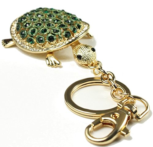 quadiva-ciondolo-da-borsetta-a-forma-di-tartaruga-colore-oro-verde-con-brillantini